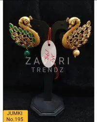195 Gold Plated Fashion Jhumki