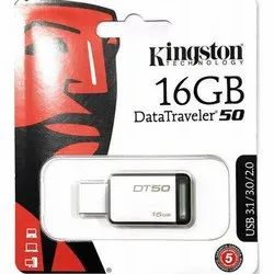 Kingston 16Gb DT50 Usb Pen Drive