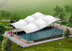 Swimming Pool Tensile Cover Structures