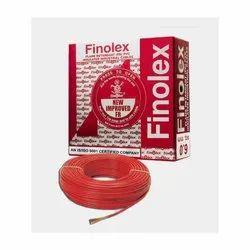 6 Sq Mm Finolex Flame Retardant PVC Insulated Red Cable