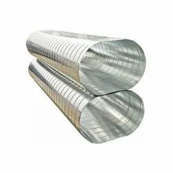 Galvanized Iron Spiral Oval Ducting