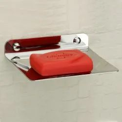 Silver Plantex Stainless Steel 202 Soap Dish, Size: 13 X 11 X 3.51 Cm