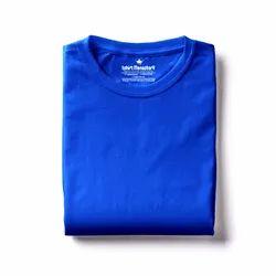 Plain Tshirt Monastery Half Sleeves 180 GSM Biowash Cotton Tshirt, Size: S-XXL