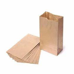 8x11 Inch Brown Paper Gusset Bag