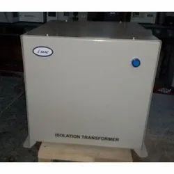 iMAC Dry type/Air cooled 6 KVA Single Phase Isolation Transformer, 280V, 230V