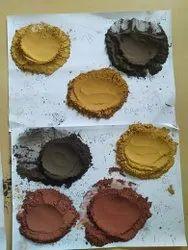 Umber Polish Powders