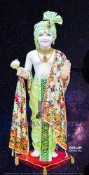 White Marble Swami Narayan Bhagwan Statue