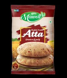 Indian Mawell Chakki Atta 1kg, Packet, Packaging Size: 1Kg, 5Kg