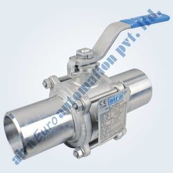 Ss 304, Ss 316 Manual Operated But Weld Ball Valve