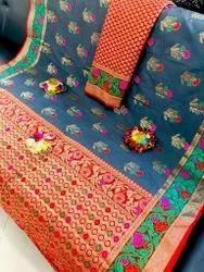 BEST SELLING Pure silk Banarsi saree