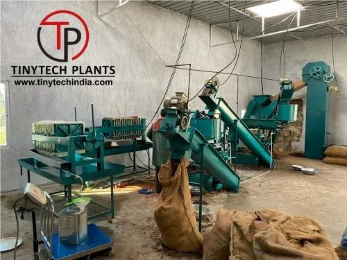 Automatic Oil Mill Machinery