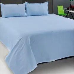 210tc Plain Cotton Satin bedsheet fabric