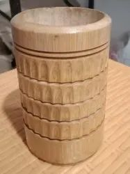 Bamboo Pen Stand