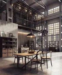 Industrial interior designer, Work Provided: Wood Work & Furniture