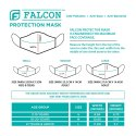 M Size Falcon Space Blue Mask