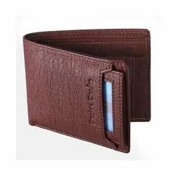 Box Brown PU Leather Wallet