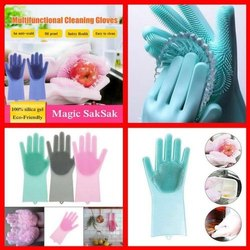Silicone Magic Cleaning Gloves