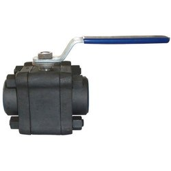 CI Forged Ball Valve, Flanged End