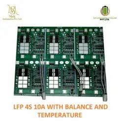 BMS 4S 10 NMC With Balance And Temperature