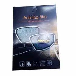 Anti Fog Film Rearview Mirror