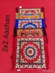 24'X24 Pooja Aashan Mat Velvet Ready