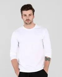 Cotton Multicolor Plain Tshirts