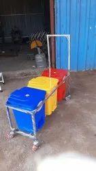 SE-52 Waste Collector Trolley 45 Ltr/60 Ltr/75 Ltr/90 Ltr