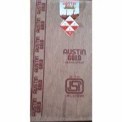 Brown Austin Gold Plywood Board, Grade: 710 Marine, Size: 8 X 4 Feet