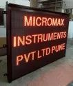 Micromax Effluents And Emission Pollution Parameter Display