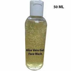 Proactive Herbs Aloe Vera Gel Face Wash, Packaging Size: Customizaton