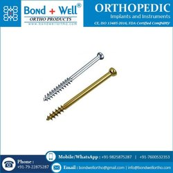 Orthopedic Cancellous Screw