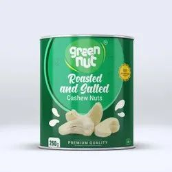 Ground Nut Roasted And Salted Cashew Nuts, Packaging Size: 250 Grams
