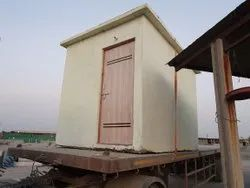 Rcc One Piece Portable House, For Office Cabin
