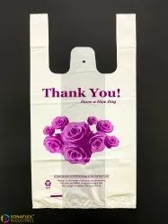 Thank You T-Shirt Bags, Thickness(microns): 51 Micron