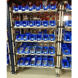 HV Engineering Mild Steel Pipe Joint Rack System