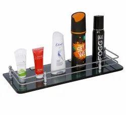 Plantenx Glass Shelf (Black) APS339