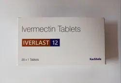 Iverlast-12 Ivermectin 12mg Tablets, 1 Tablet