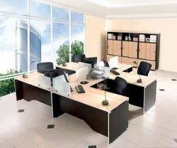 Plywood Customization Modular Office Furniture