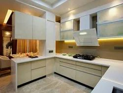 U Shape Italian Modular Kitchen