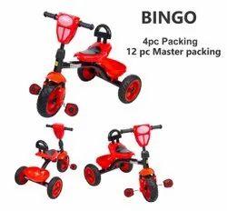 Plastic & Iron 3-5 Years Bingo Tricycle For Children