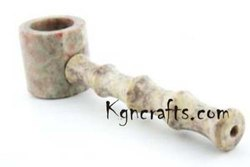 STONE SMOKING PIPE