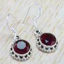 925 Sterling Silver Nice Designer Jewelry Tiger Eye Earring WE-6263