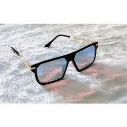 Aviator Casual Wear Men Full Acetate Square Fancy Sunglasses