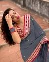 Fancy Georgette Embroidery Ladies Indian Wear Saree