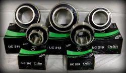 Bearing Steel ORLIN UC Series Bearings 204 To 215 MM / INCH