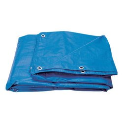 Blue HDPE Tarpaulins, Thickness: 2 Mm