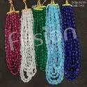 Glass Beads 5 Line Designer Mala