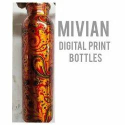 Digital Print Copper Bottle