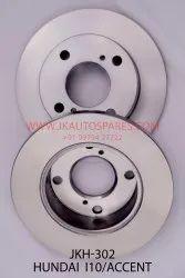 Brake Disc for HUNDAI I10 / ACCENT