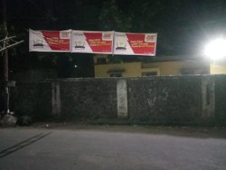 Cotton Printed 6 x 3 Feet Promotional Cloth Banner